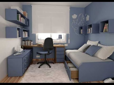 Boys Bedroom Ideas for Small Rooms - YouTube