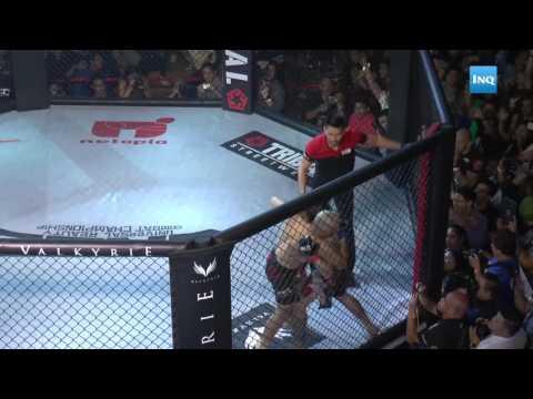 Baron Geisler vs Kiko Matos Bigwasan at Valkyrie