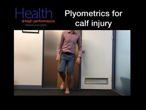 Plyometrics for calf strain, calf injury, pulled calf | Melbourne Sports Chiropractor