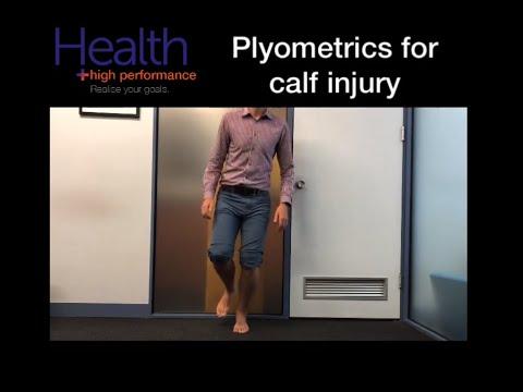 Plyometrics after calf injury