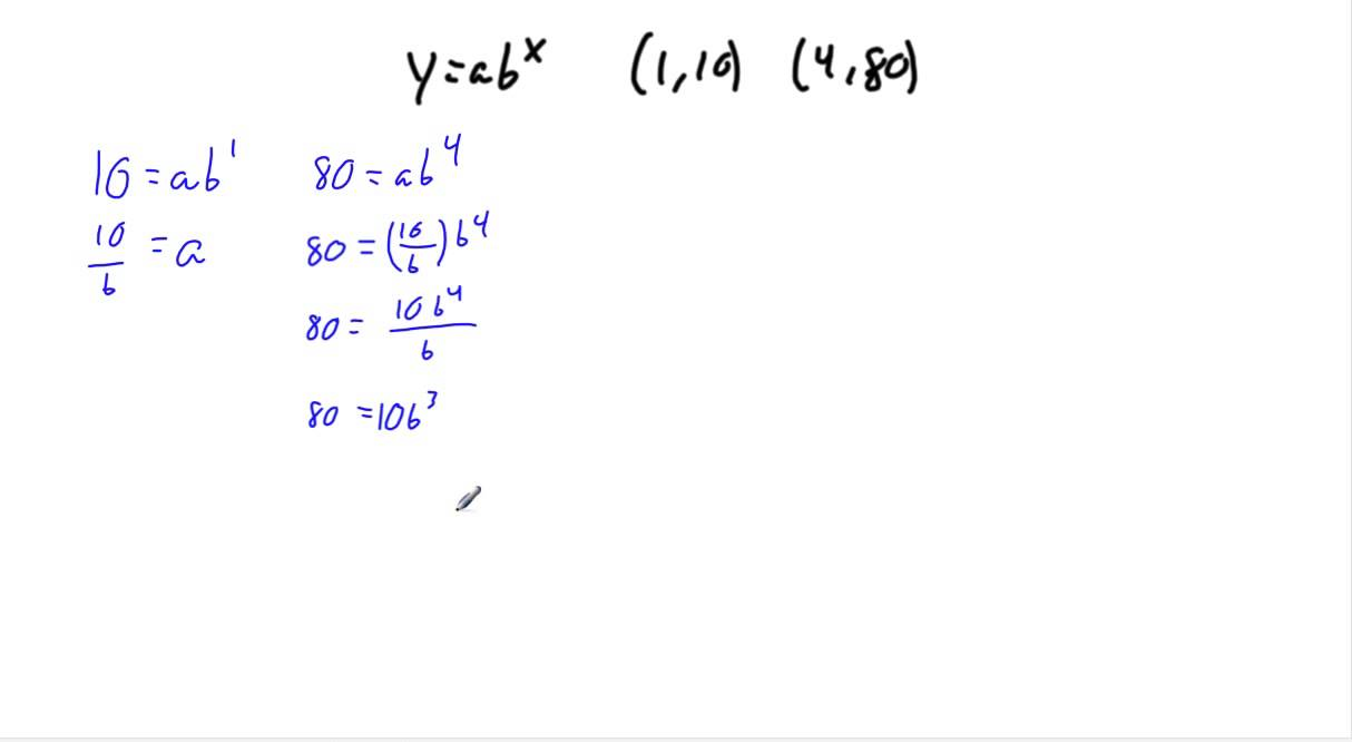 writing exponential equations Name: algebra 2 date: solving exponential equations find all values of x that solve the following equations for many problems, you may want to write both sides with the same base.