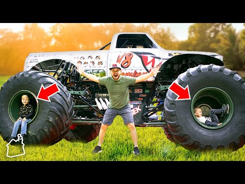 WE BOUGHT A MONSTER TRUCK!
