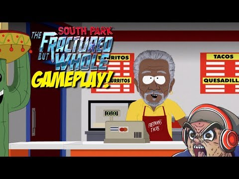 THIS GAME TOO CRAZY EVEN FOR ME!! [SOUTH PARK: FRACTURED BUT WHOLE] [NEW GAMEPLAY]