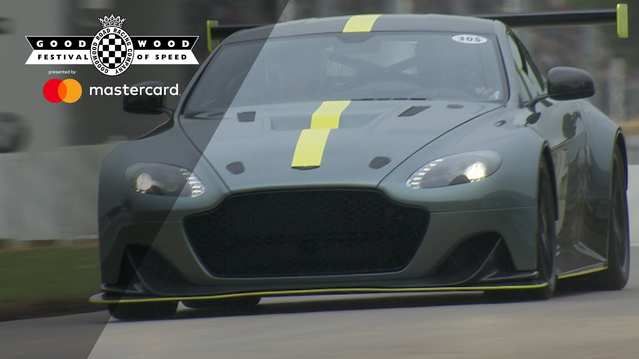 Mighty Aston Martin Vantage Amr Pro Roars Up Fos Hill Youtube