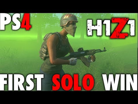 FIRST SOLO WIN IN H1Z1 PS4 CLOSED BETA | FROM DIVISION AGENT TO H1Z1 BEAST | PS4 PRO 1080P 60FPS