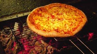 Пицца по-кавказски, на углях