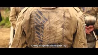 Attack On Titan:  Đại Chiến Titan Trailer#1