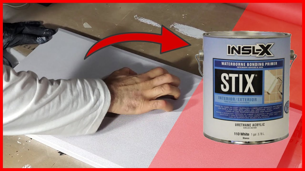 How To Prime Kitchen Cabinets With Stix Primer Youtube