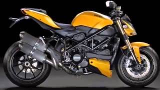 Mercedes-Benz SLK 55 AMG and Ducati Streetfighter 848 Videos