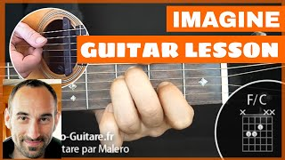 Imagine Guitar Lesson - part 1 of 3