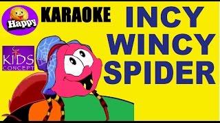 Incy Wincy Spider Karaoke