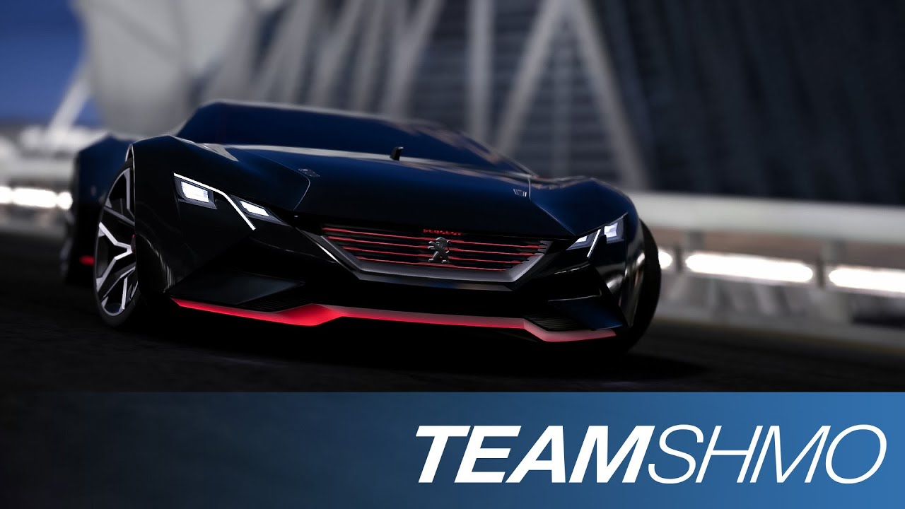 GT6 - Peugeot Vision GT concept car - YouTube