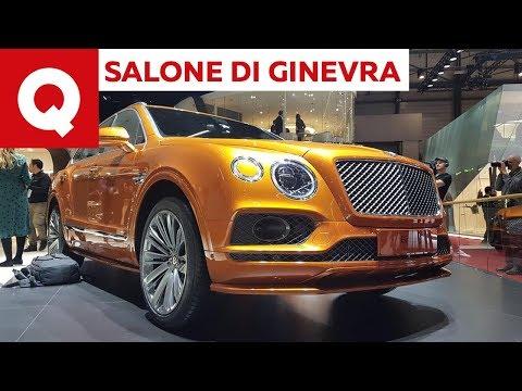 Bentley Bentayga Speed ecco la SUV più veloce al mondo e della Urus  - Salone di Ginevra 2019