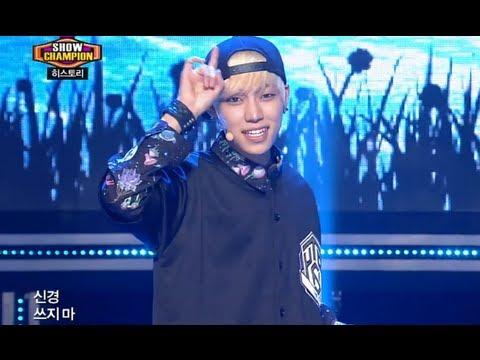 HISTORY - Tell Me Love, 히스토리 - 열대야,  Show Champion 20130904