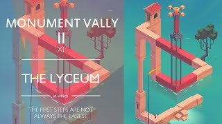 Monument Valley 2 : THE LYCEUM Chapter 11 - Level 11 Walkthrough Video