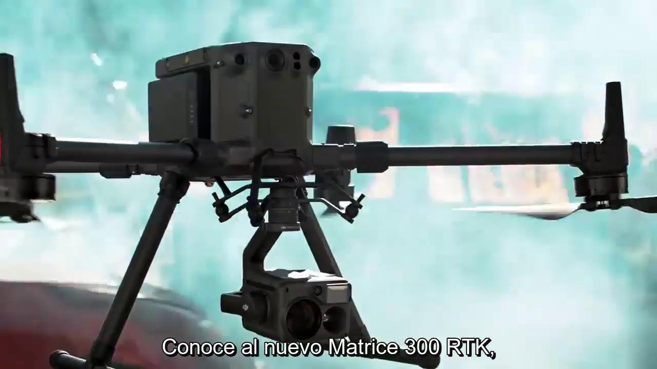 DJI Matrice 300 RTK y Zenmuse Serie H20 - Subtitulado