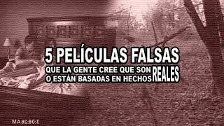 5 películas de terror que erroneamente se cree son verdaderas | Proyecto Paranormal México
