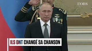 L'hymne national de la Russie massacré pour accueillir Poutine en Arabie saoudite