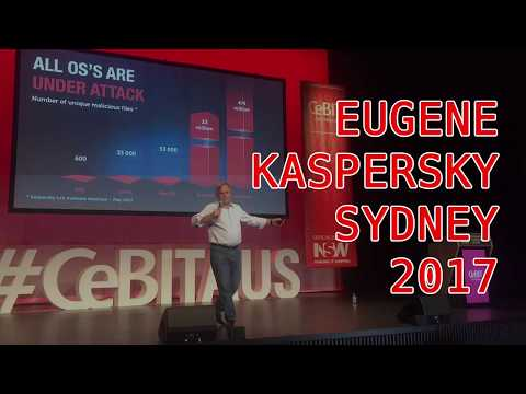 Eugene Kaspersky Keynote Sydney 2017