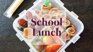 School Lunch Ideas Beyond the Sandwich | One Hungry Mama