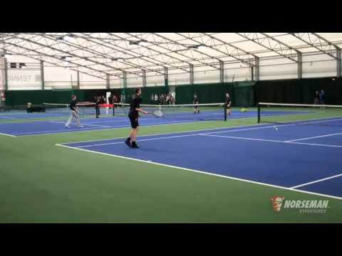 Norseman Structures Fabric Buildings   Churchill Community College - Indoor Tennis Facility