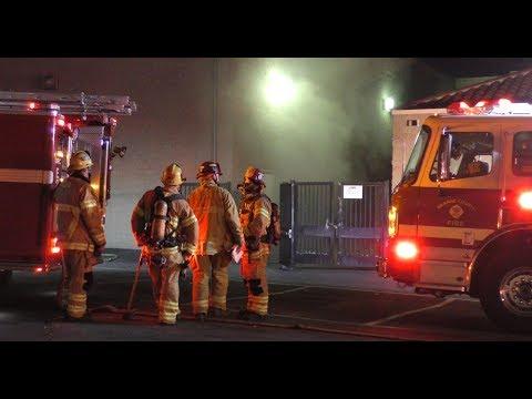 Suspicious Fire at Mission Viejo High School  3.28.18