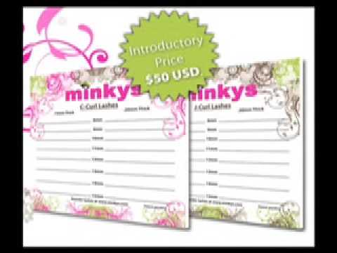 Minkys Eyelash Extension Trays - YouTube