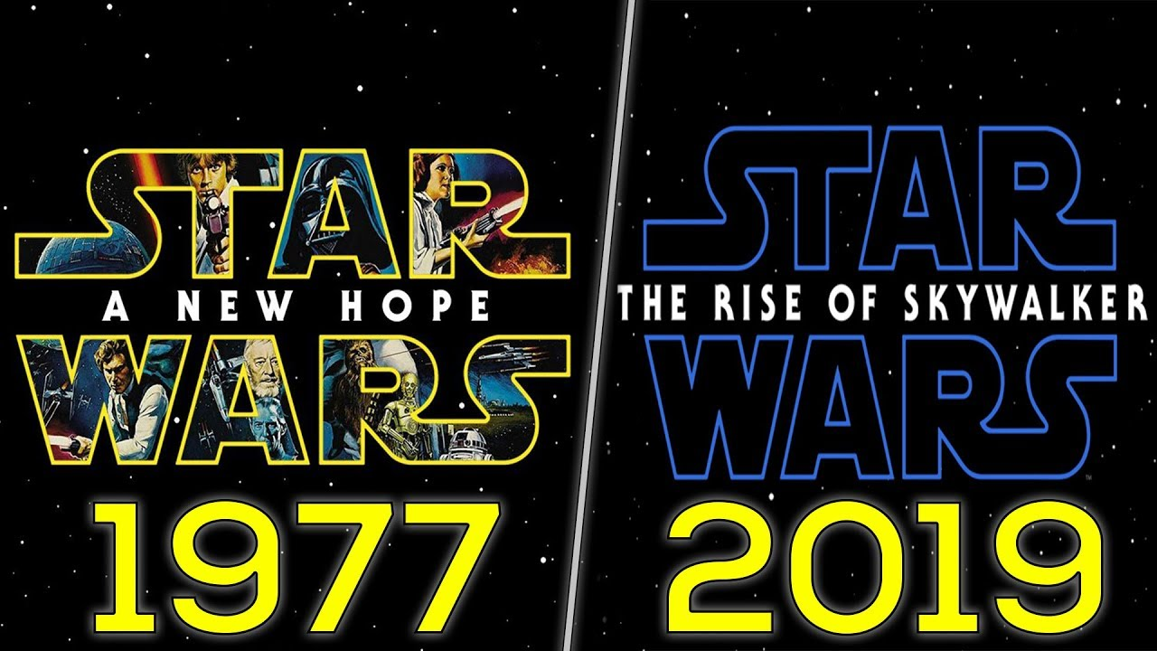 Download Evolution of Star Wars Movies (1977-2019)