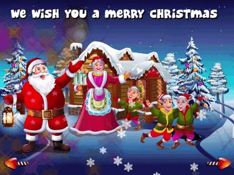 Christmas Songs Collection Nursery Rhymes Games - We Wish You a ...