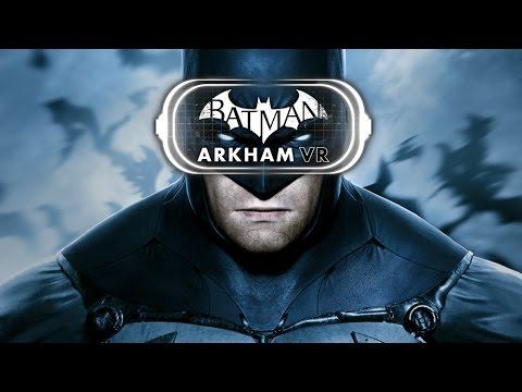 Batman Arkham VR All Cutscenes (PSVR) Game Movie 1080p HD