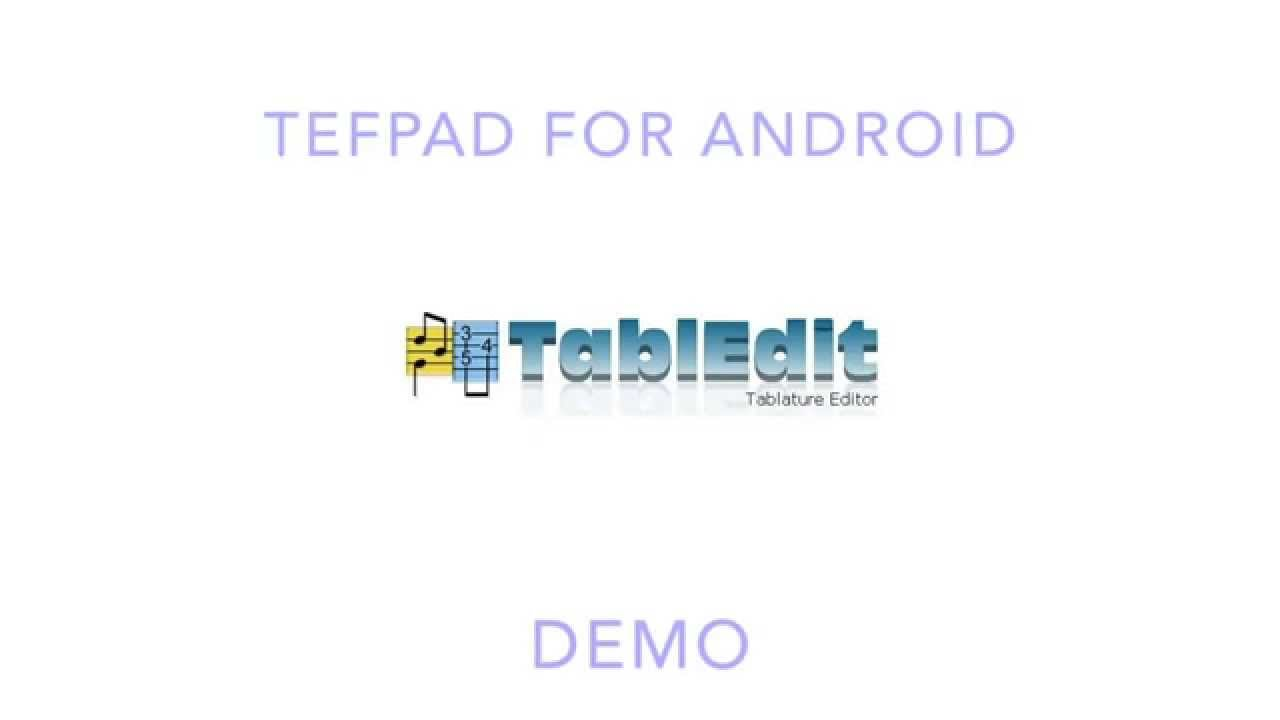 TEFpad LE for Android 4 0 Free Download