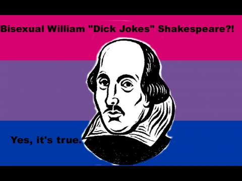 William Shakespeare was totally Bisexual (Probably)