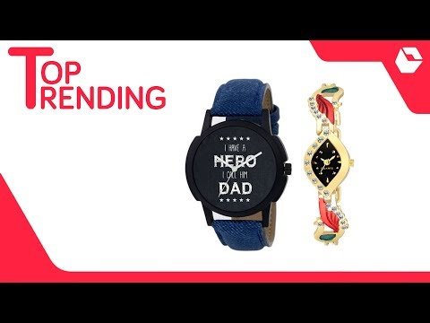 Stylish Combo Couple Watch For Boys & Girls | Best Selling Watches