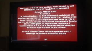 Ontario Amber Alert (VERY SCARY TONES)