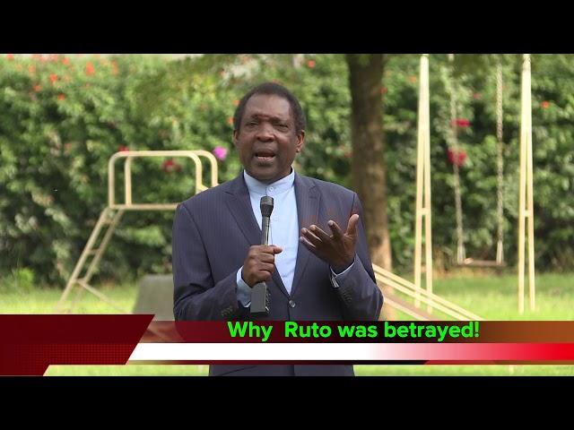 Why Ruto was betrayed!