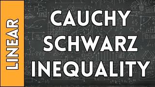 Basic Cauchy-Schwarz Inequality - Linear Algebra Made Easy (2016)