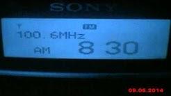 DX FM Darik Radio Kiustendil Bulgaria in Craiova Romania 245 km