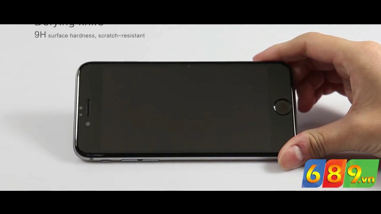 Dán Kính Cường Lực Full Viền Cho iPhone 6-6Plus,7-7Plus,8-8Plus