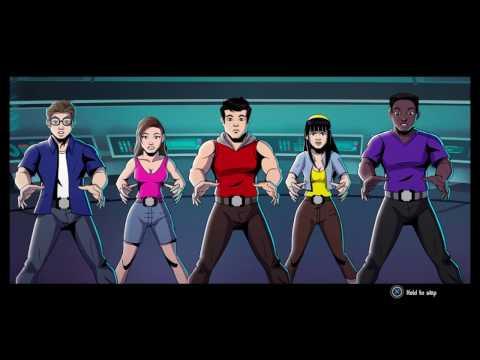 Power Rangers Mega Battle Entire First Level - PSX 2016