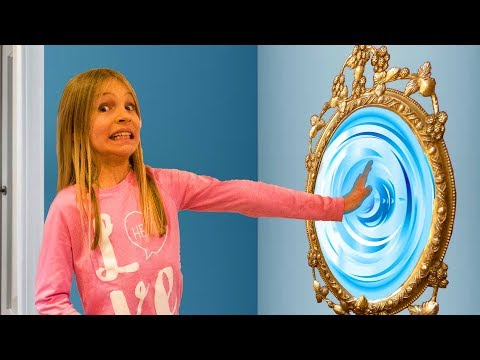 Amelia, Avelina compilation Tuesday with a magical mirror to an indoor playground.