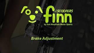 Brake Caliper Adjustment