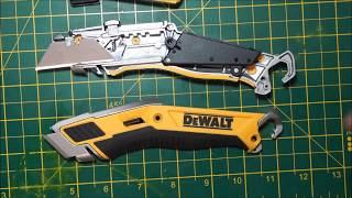 Dewalt Premium Retractable Utility Knife Problems