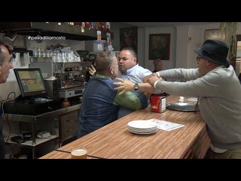 El Momento Más Delirante De Pesadilla En La Cocina: La Pelea Entre Marco Y Antonio