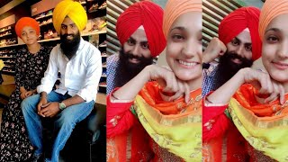 Kiran Satvir Best Punjabi Tiktoker / Latest Punjabi Viral Musically Videos  !