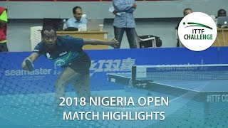 Aruna Quadri vs Antoine Hachard | 2018 Nigeria Open Highlights (Final)