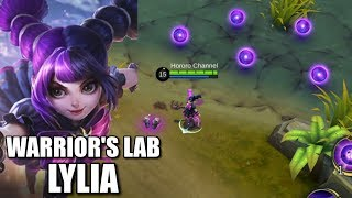 LYLIA IS READY! WARRIORS LAB BUILD AND SKILLS