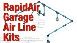 Simple Set-up For Rapidair Garage Air Line Kits From Eastwood