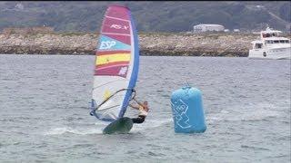 Women's RS:X Windsurfing Final Full Replay - London 2012 Olympics