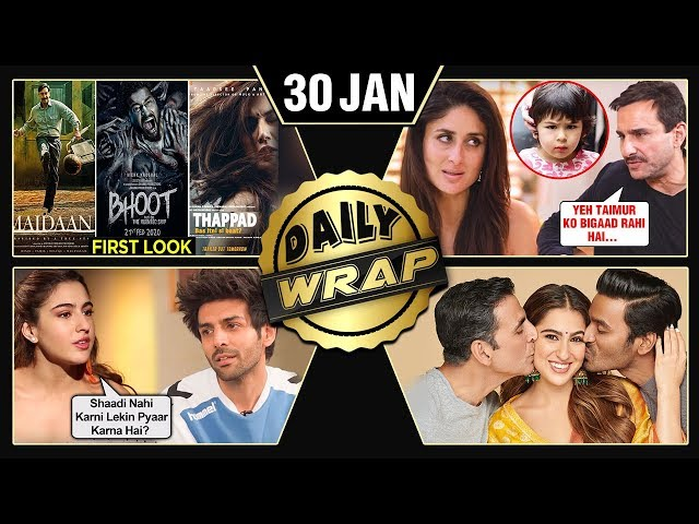 Sara Akshay Atrangi Re FIRST Look, Saif BLAMES Kareena, Kartik Aaryan Marriage Plans   Top 10 News