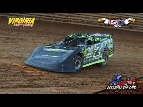 USA100 #7A Corey Almond - Crate Late Model - 6-16-18 Virginia Motor Speedway - In Car Camera